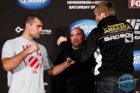 Shogun Rua and Alex Gustafsson