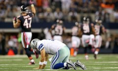 Tony Romo, Dallas Cowboys vs Chicago Bears